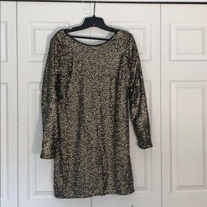 Abercrombie sequins shift dress